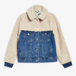 Top shop jean jacket